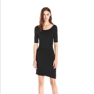NWT Three dots side pleat dress